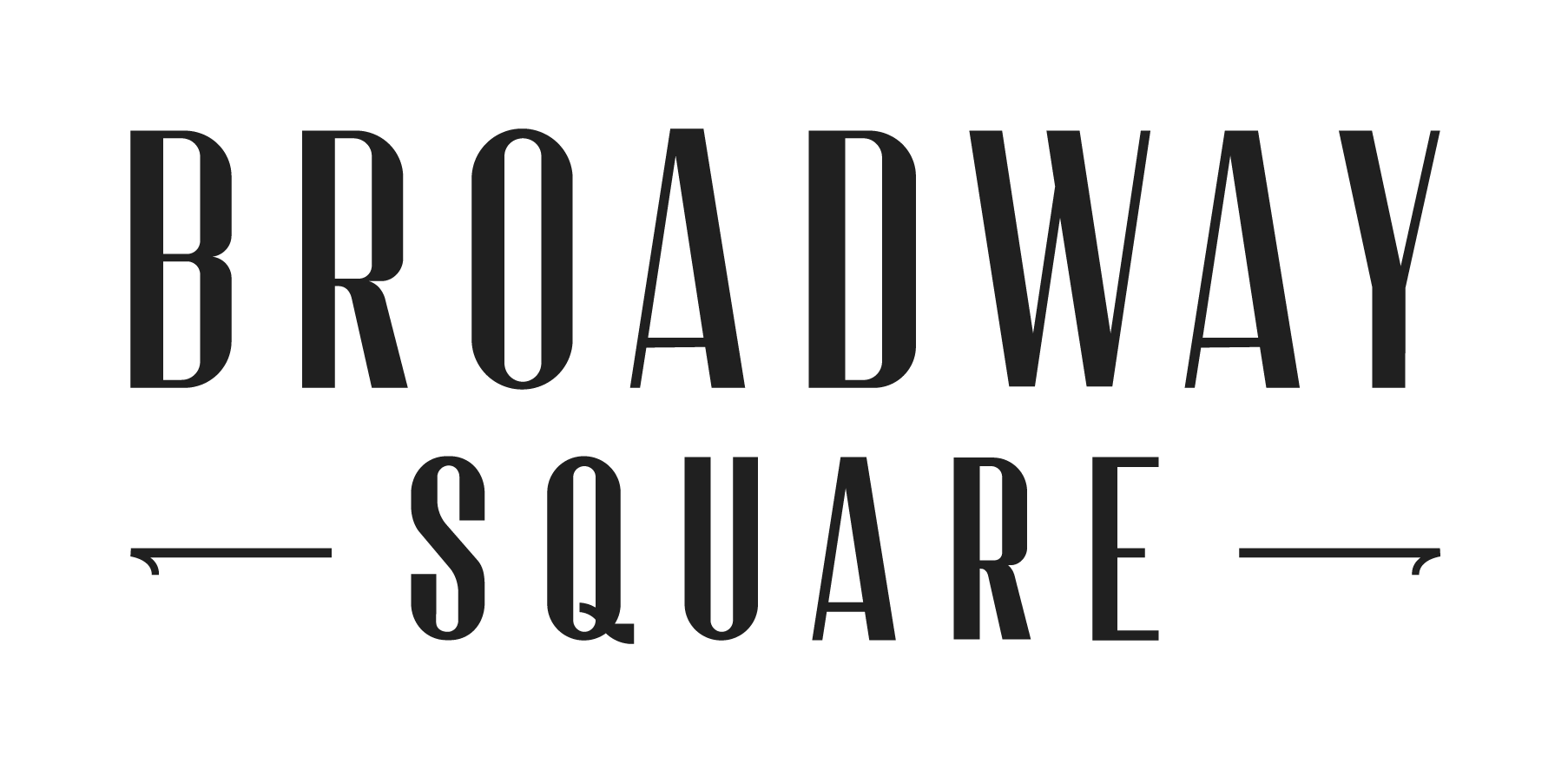 This image shows the Broadway Square logo.