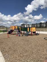 This image shows the playground at Urban Plains Park.