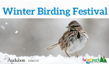 This image shows the Winter Birding Festival graphic.