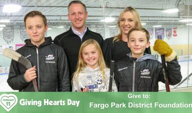 This image shows the Fargo Youth Hockey graphic.