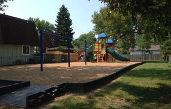 This image shows the playground at 23rd Street Park.