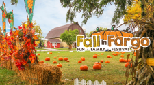 This image shows a Fall in Fargo event graphic.